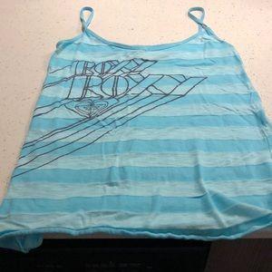 Women's Roxy tight fit tank (XL) RUNS VERY SMALL!!